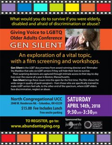 Gen Silent, giving a voice to LGBTQ Older Adults